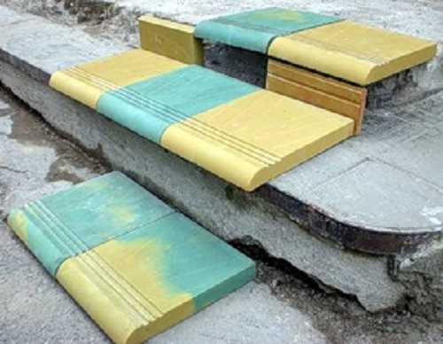 Тротуарная плитка для ступеней