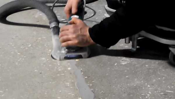 Шлифование наливного пола