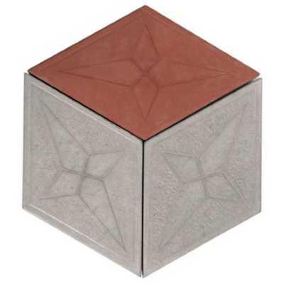 Схема раскладки шестигранник