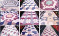 Тротуарная плитка ромб варианты укладки