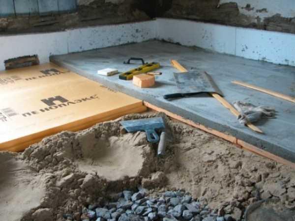 Как сделать полы с бетонным основанием 964