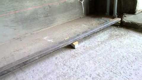 Маячки для стяжки из трубы