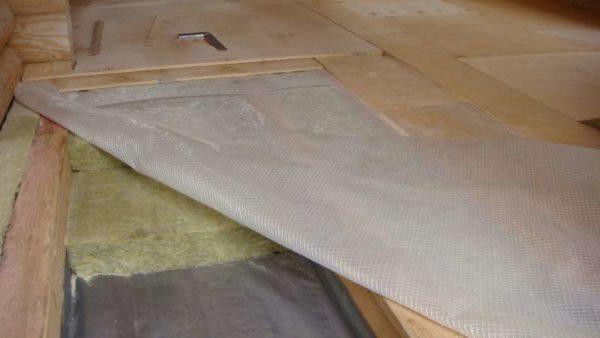 Пирог деревянного перекрытия