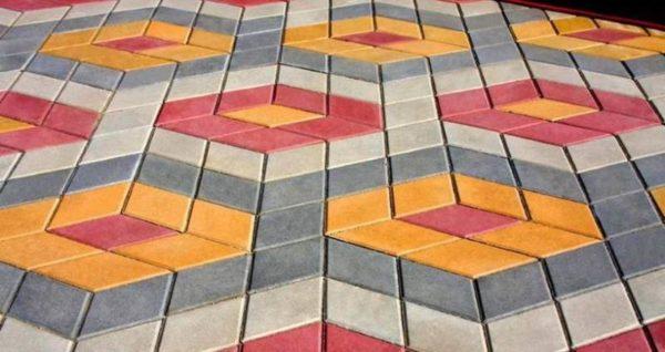 Крупные узоры из цветных ФЭМ