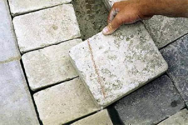 Разметка плитки для резки