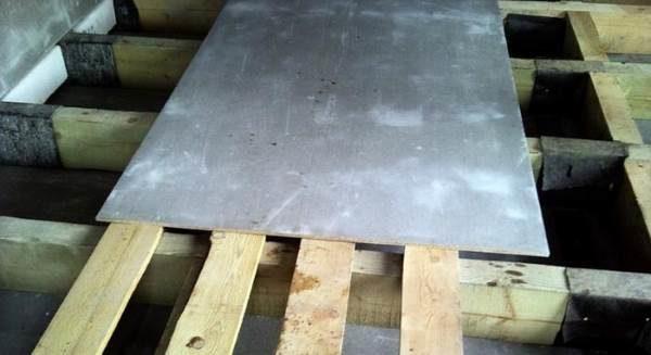 ЦСП по деревянному полу