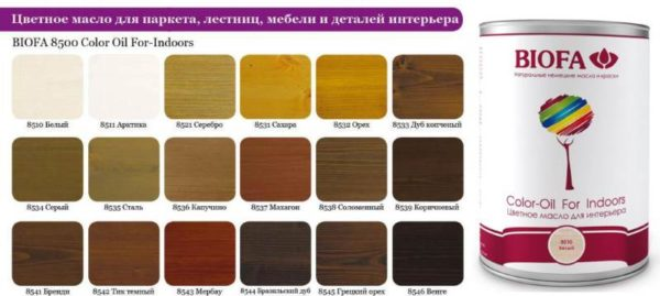 Цветное масло
