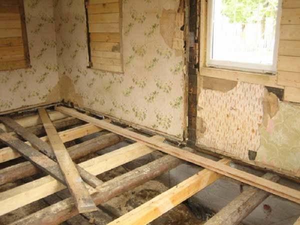 Балки деревянного пола