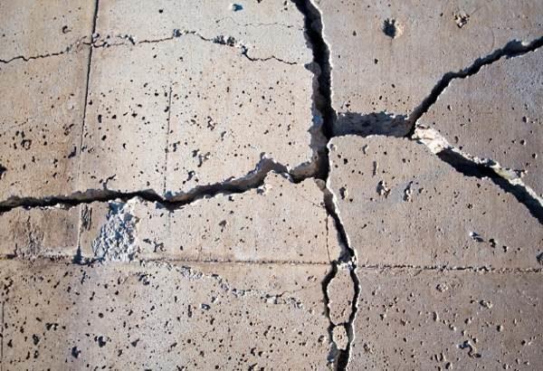 Разрушение бетонной стяжки