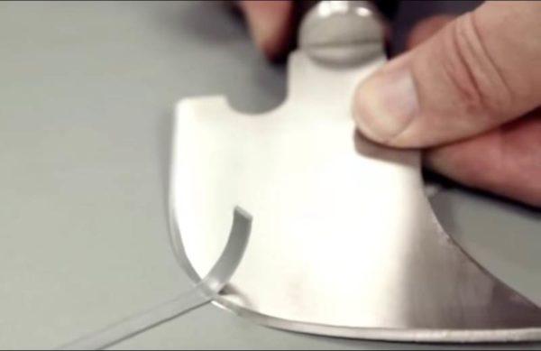 Удаление выступающей части сварочного шнура