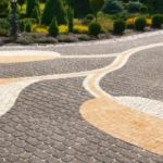 Декоративная укладка плитки тротуарной