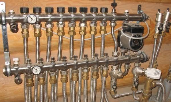 Гофрированные трубы.