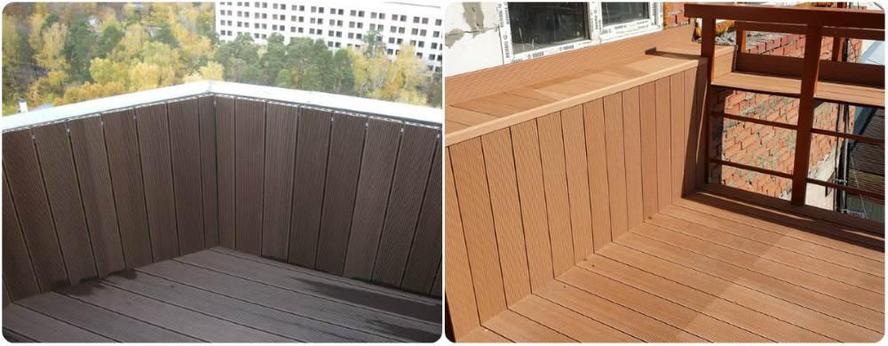 Террасная доска на балконе: варианты отделки и укладка.