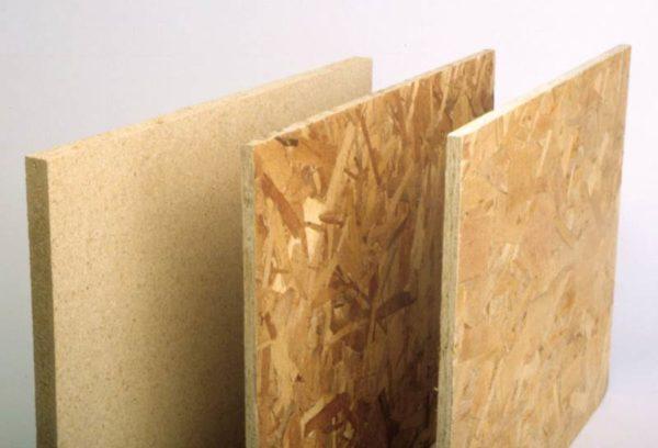 Листовые материалы для сухой сборной стяжки