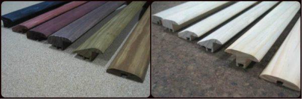 Деревянные пороги для ламината
