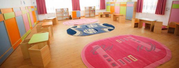 ПВХ-линолеум в детском саду