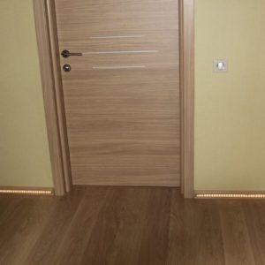 Ламинат и двери в интерьере