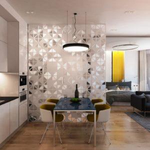 Легкость стекла и внушительность древесины