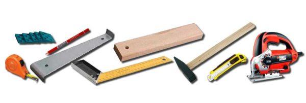 Инструменты для укладки пробкового ламината