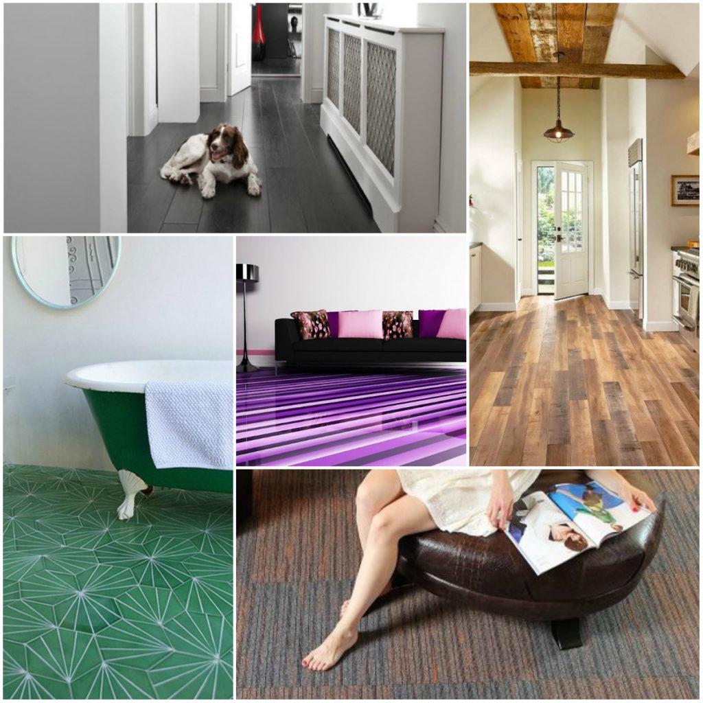 Какое напольное покрытие выбрать в квартиру или дом