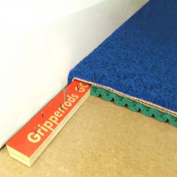 Укладка ковролина стрейч-методом