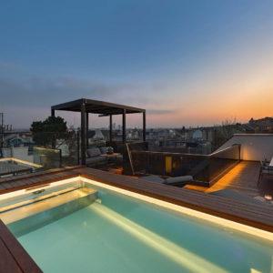 Крыша в стиле урбан