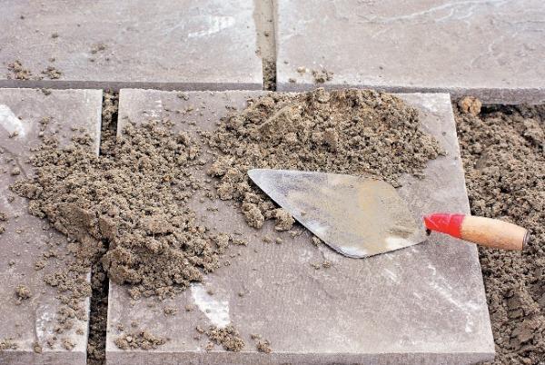Гарцовка из песка и цемента