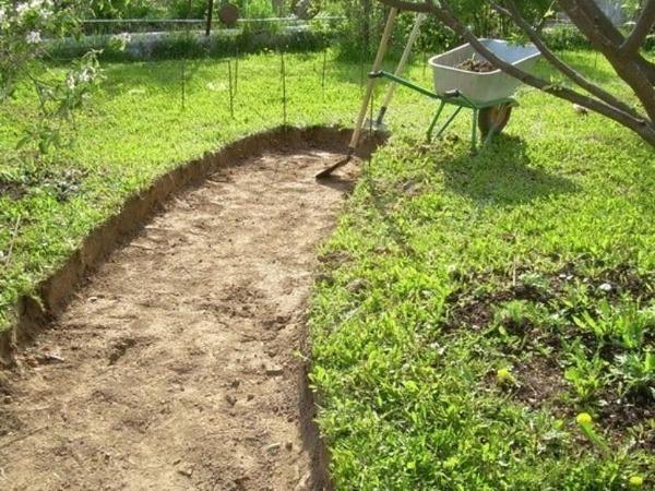 Удаление слоя плодородной почвы