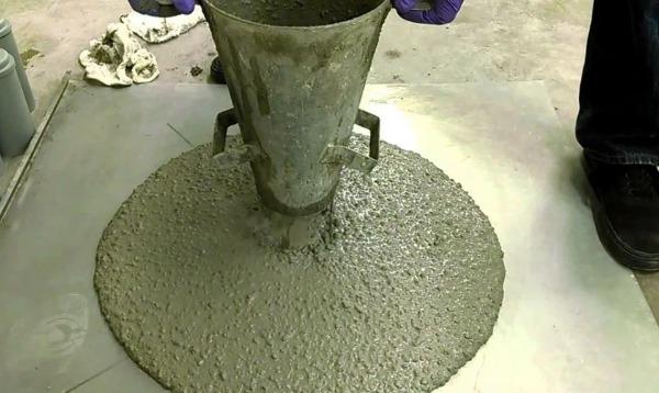 Увеличение подвижности бетонной смеси