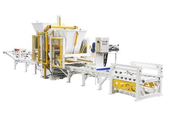 Конвейерная линия по производству ФЭМ вибролитым способом