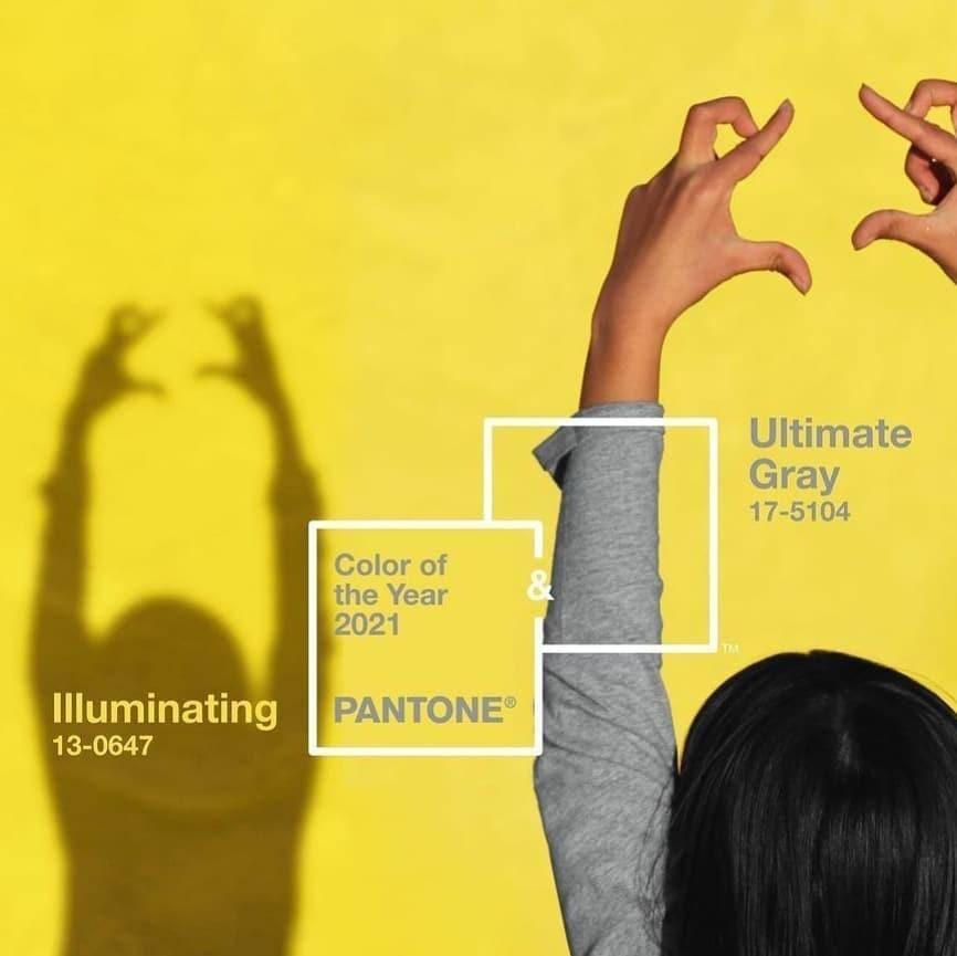 Цветовые тренды 2021 года – выбор Pantone