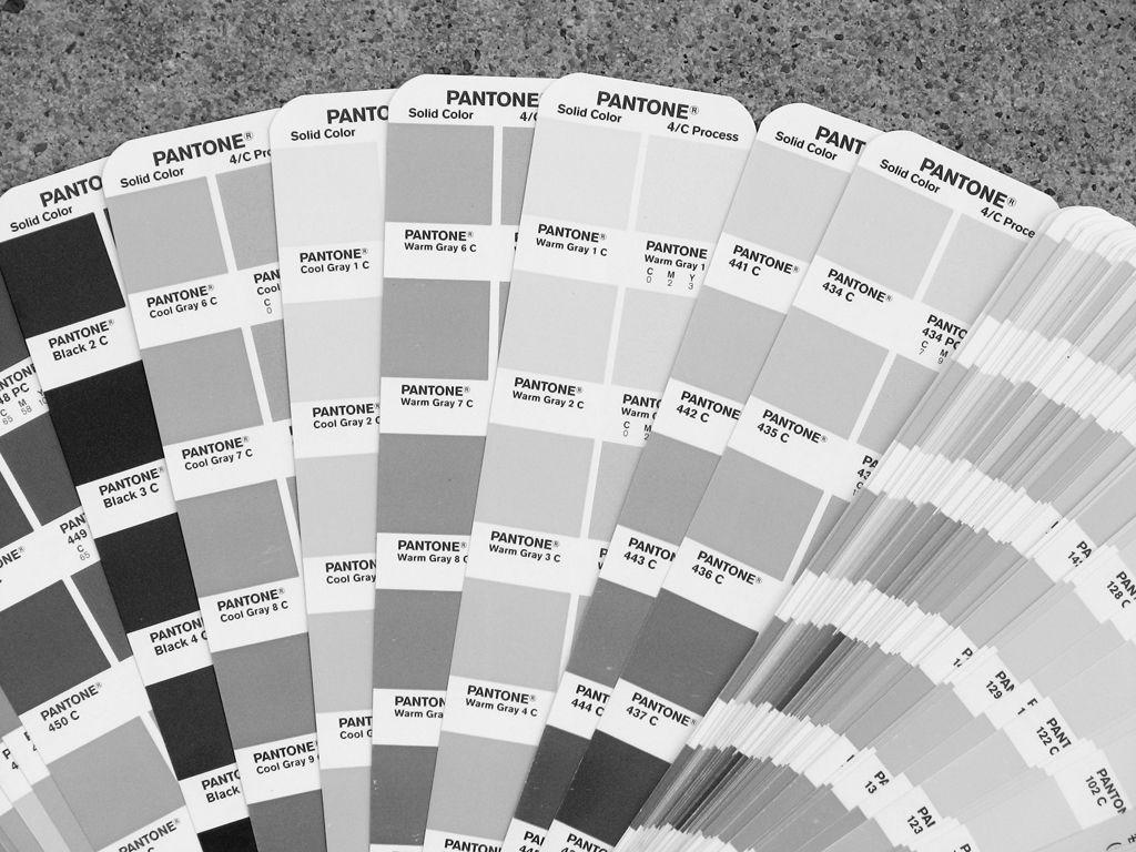 Рис. 3 Разнообразие серых оттенков