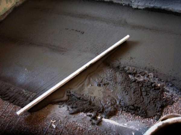 Технология бетонной стяжки