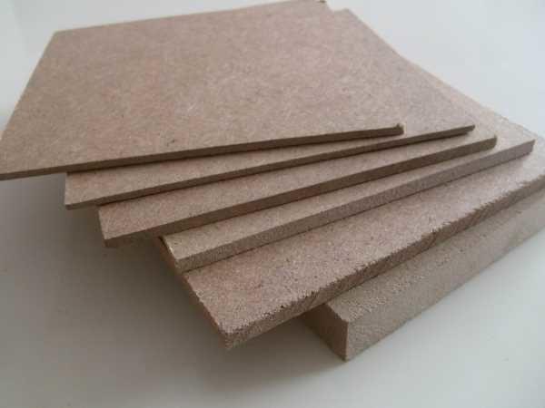 Древесноволокнистая плита высокой плотности HDF