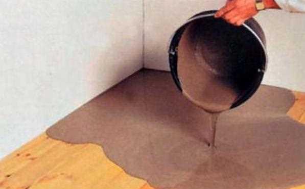 Заливка наливного пола на деревянное основание