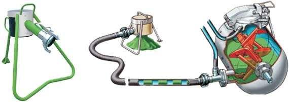 Приготовление и подача бетона для полусухой стяжки