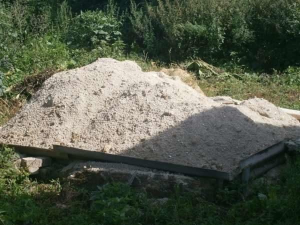 Песок карьерный мытый для тротуарной плитки