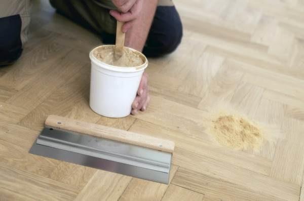Приготовление шпатлевочной массы