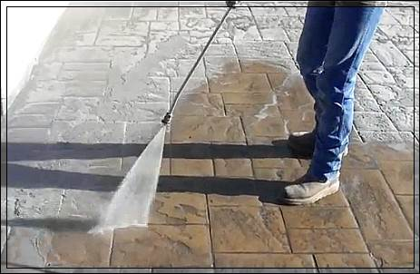 Технология травления тротуарной плитки