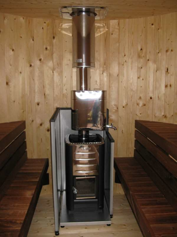 Заводские защитные экраны для банной печки