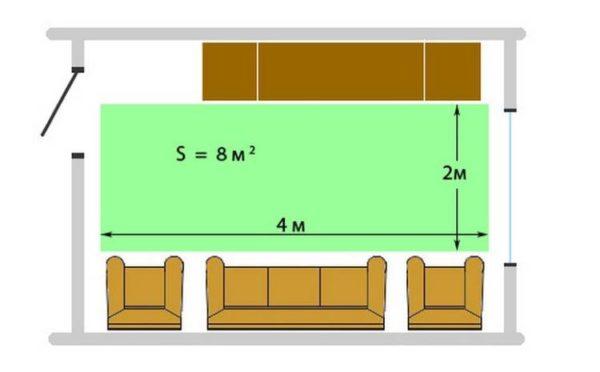Схема укладки инфракрасной пленки