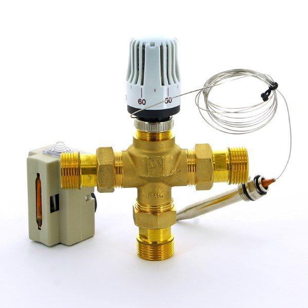 3-х ходовой клапан с термоголовкой
