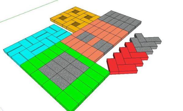 Схемы раскладки
