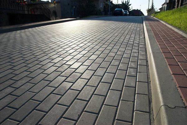 Перевязка тротуарной плитки
