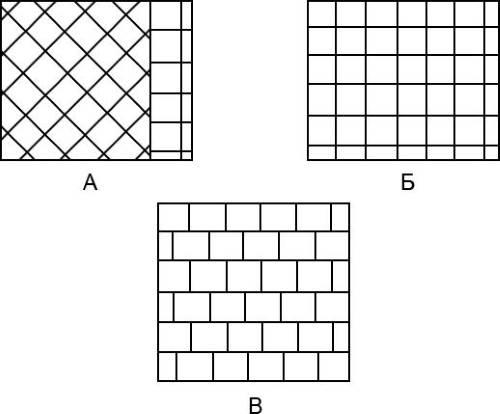Базовые схемы укладки плитки