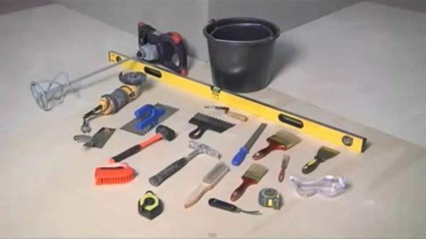 Инструменты для работы с керамической плиткой