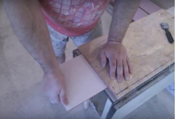 Отламывание плитки