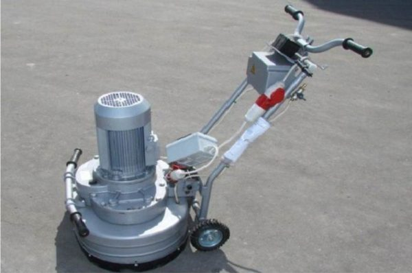 Шлифовальная машина для бетонного пола