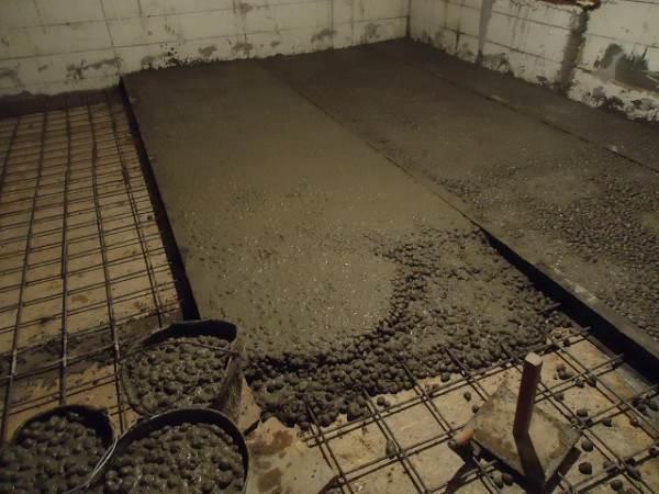 Стяжка из керамзитобетона в один слой тоо сапалы бетон