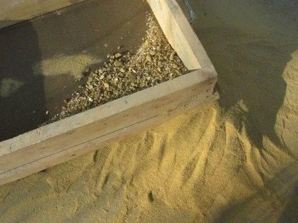 Просеивание песка